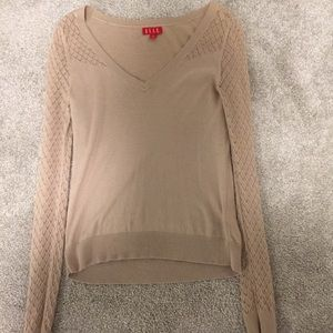 Beautiful tan Elle sweater